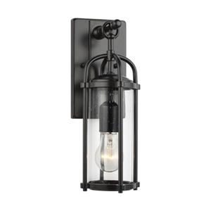 Feiss Dakota Espresso Outdoor Wall Lantern.