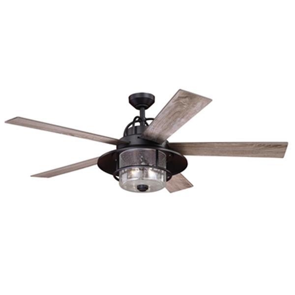 "Ventilateur de plafond Charleston, 56"", bronze"