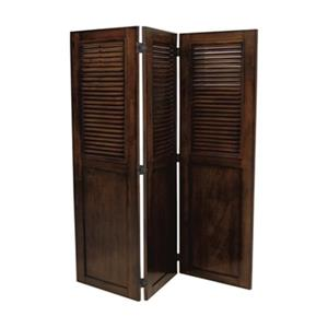 Sunset Trading Bahama Shutter Wood Room Divider