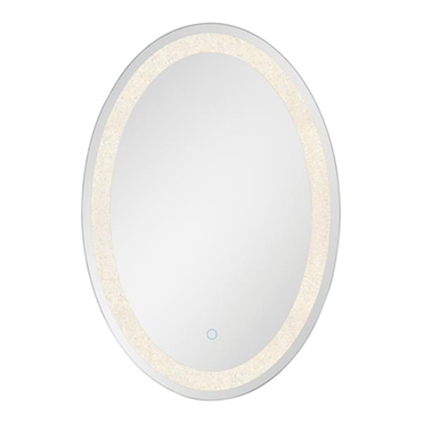 Eurofase LED Oval Back-Lit Integrated Wall Mirror