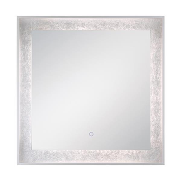 Eurofase LED Square Edge-Lit Integrated Wall Mirror