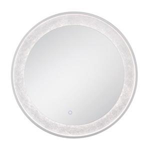 Eurofase LED Round Edge-Lit Integrated Wall Mirror