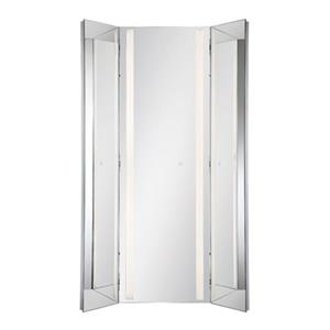 Eurofase Lighting LED Tri-Fold Integrated Mirror