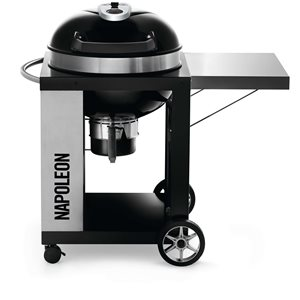 Napoleon PRO 41.75-in x 44.75-in Black Charcoal Kettle Grill