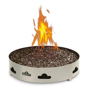 Napoleon Patioflame Round Propane Gas Fire Ring with Glass