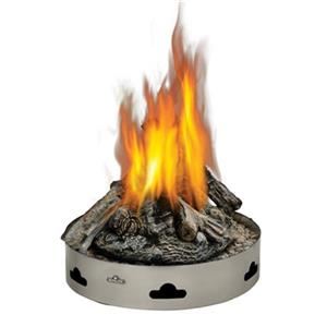 Napoleon Patioflame Round Propane Gas Fire Pit with Logs