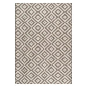 nuLOOM Marybelle Tribal Diamond Trellis 6-ft x 9-ft TanOutdoor Rug