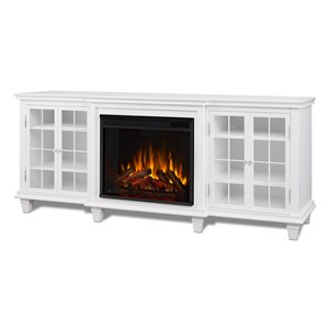 Real Flame Marlowe Entertainment Center Electric Fireplace,2