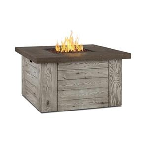 Real Flame Flame Forest Ridge Square Liquid Propane Fire Table