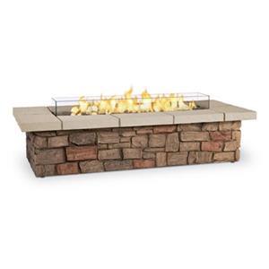 Real Flame Sedona 66-in Rectangular Liquid Propane Fire Table