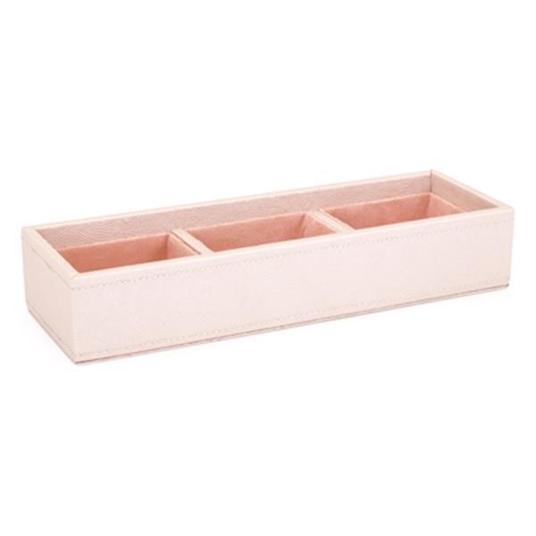 IMAX Worldwide Beth Kushnick Pink Faux Leather Desk Set in Gift Box (Set of 6)
