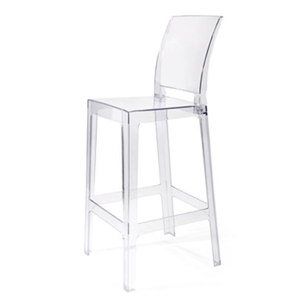 IMAX Worldwide Vitreous Bar Chair,89535