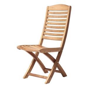 ARB Teak & Specialties Manhattan 38-in x 22-in Outdoor Folding Side Chair