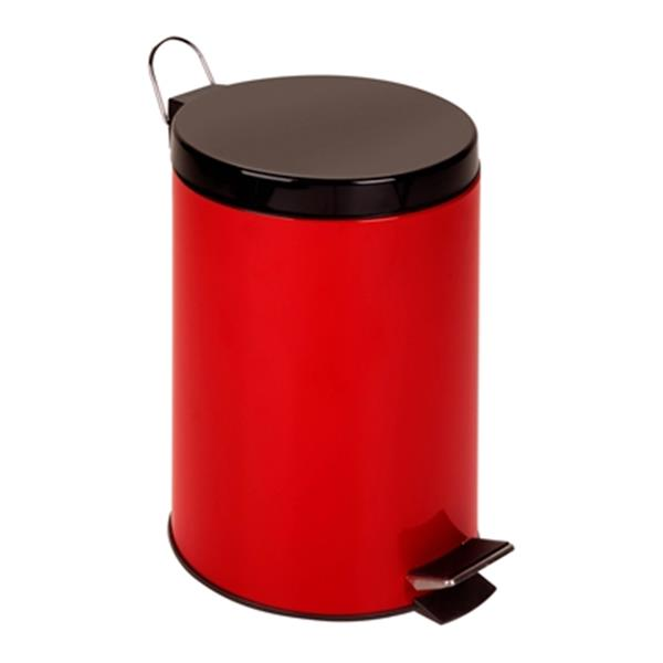 Honey Can Do Stainless Steel 12L Step Trash Can