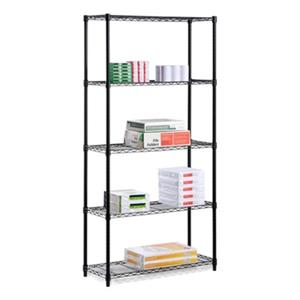 Honey Can Do Black 5-Tier Shelving Unit