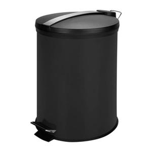 Honey Can Do 12L Colored Metal Pedal Trash Can