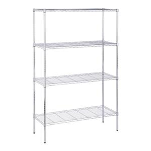 Honey Can Do 4-Tier Steel Adjstable Storage Shelving Unit