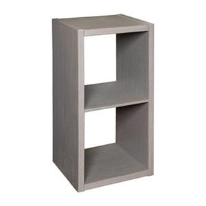 Honey Can Do 2-Cube Premium Laminate Organizer Shelf,SHF-014