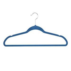 Honey Can Do Flocked Blue Suit Hanger (Pack of 25)