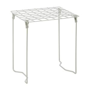 Honey Can Do 12.75-in x 1.20-in Sliver Stackable Steel Locker Shelf