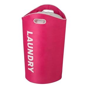 Honey Can Do Pink Foam Laundry Tote