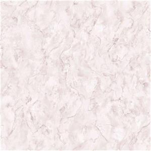 Graham & Brown Vermeil 56 sq ft Pink Marble Unpasted Wallpaper