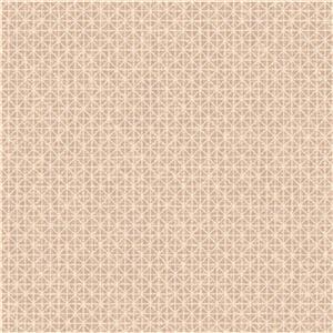 Graham & Brown Empress 56 sq ft Rose Gold Optical Unpasted Wallpaper