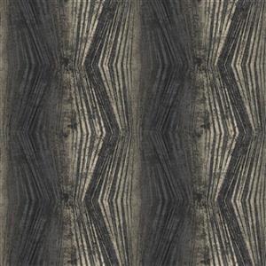 Graham & Brown Vermeil 56 sq ft Charcoal Stripe Unpasted Wallpaper