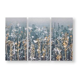 Graham & Brown 23.60-in x 11.80-in Wildflower Meadow Printed Canvas (Set of 3)