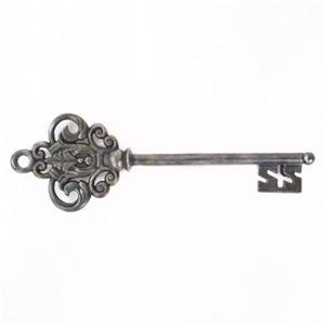 Graham & Brown Silver Castle Key Metal Art