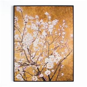 Graham & Brown 35.40-in x 27.60-in Oriental Blossom Hand Painted Art