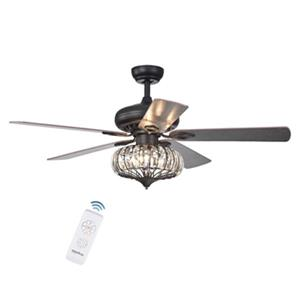 Warehouse of Tiffany Chrysaor 3-Light Ceiling Fan - Bronze