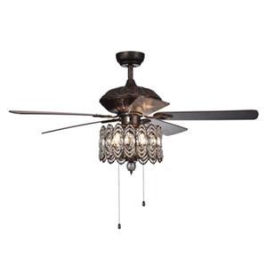 Warehouse of Tiffany Mariposa 52-in Rustic Bronze 3-Light Ceiling Fan