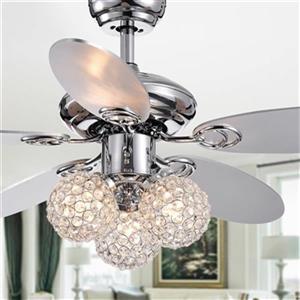 Warehouse of Tiffany Casimer 42-in 3-Light Ceiling Fan