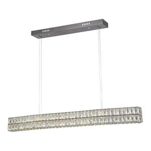 Bethel International LED Crystal Kitchen Island Lighting,KD1