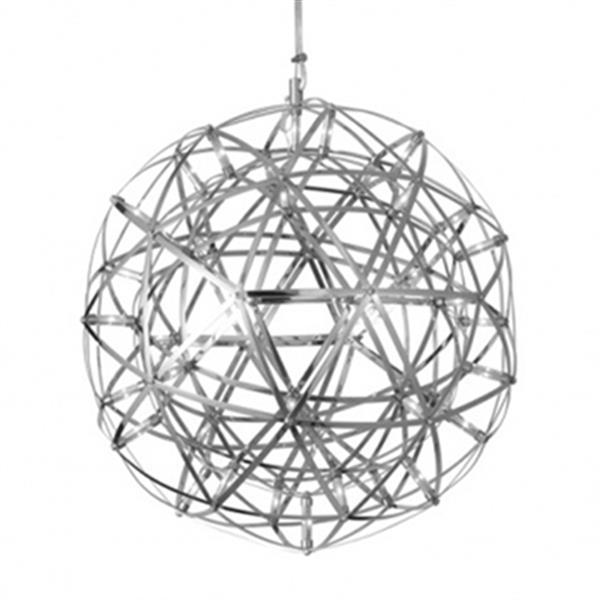 Design Living MN Series Collection 11.8-in Satin Nickel Star LED Mini Pendant Light