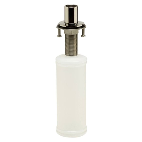 ALFI Brand 11.13-in Polished Stainless Steel Modern Round Soap Dispenser