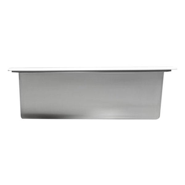 ALFI Brand 12-in x 24-in Stainless Steel Vertical Double Shelf Bath Shower Niche