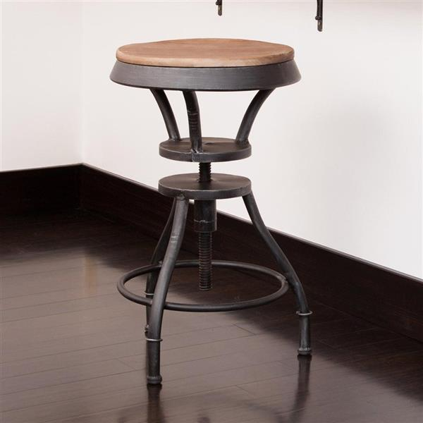 Best Selling Home Decor Lucian Tan Adjustable Stool