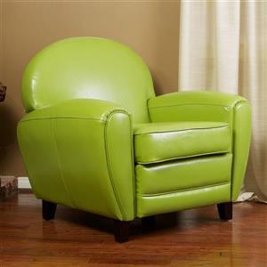 Chaise Club de Best Selling Home Decor, Vert