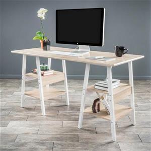 Best Selling Home Decor Zeta Transitional Light maple Computer Desk