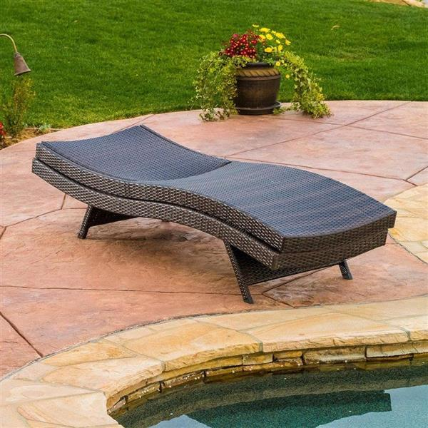 Best Selling Home Decor 5-Piece Wicker Frame Patio Conversation Set