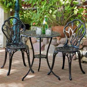 Best Selling Home Decor Nassau 3-Piece Bistro Set