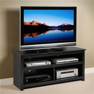 Prepac Vasari Black TV Cabinet
