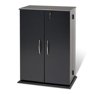 Prepac Locking Multimedia Storage Cabinet