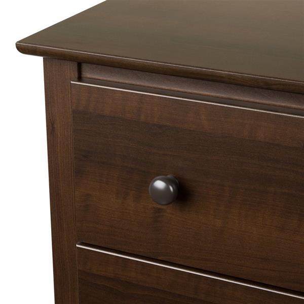 Prepac Fremont Espresso 6-Drawer Dresser