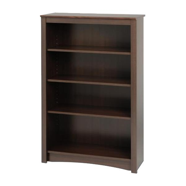 Prepac Espresso  4-Shelf Bookcase