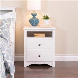 Prepac White Nightstand