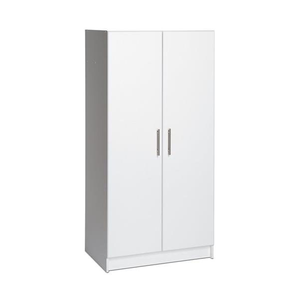 Prepac Elite White Armoire