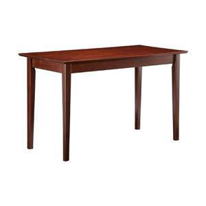 Atlantic Furniture Shaker Transitional Antique Walnut Writing Desk
